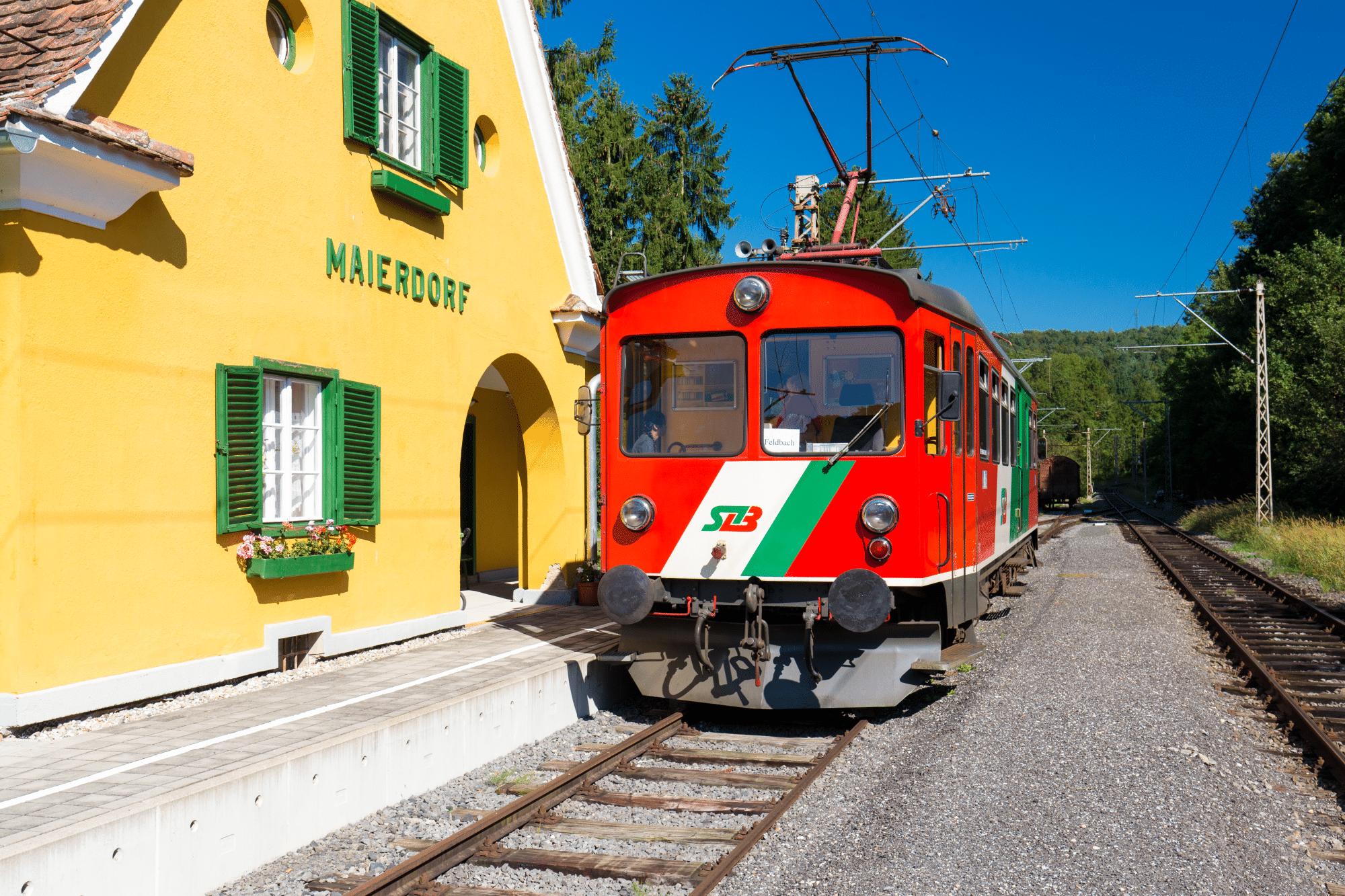 Gleichenberger Bahn | steiermarkbahn.at | Das Bahn-Erlebnis